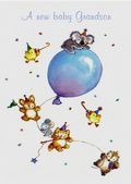 New Baby - A Grandson - Balloon and Animals